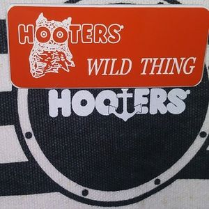NEW Hooters Nametag